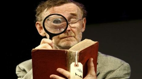 Patrick O'Brien in 'Underneath the Lintel.' Photo courtesy of Mr. O'Brien.