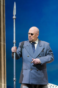 Alan Held as Wotan in 'The Rhinegold.' Photo by Scott Suchman