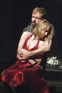 Shane Kenyon and Julia Coffey. Theatre. Photo by Allie Dearie.