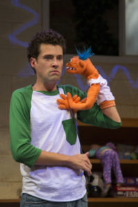 Liam Forde in 'Hand to God' at Studio Theatre. Photo by Amy Horan.