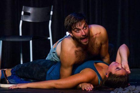 James Smith and Sarah Moore. Photo by Aaron Kisner.