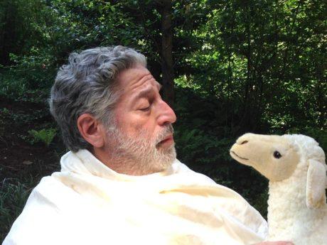 Tom Alan Robbins stars as God. Photo courtesy of the production.