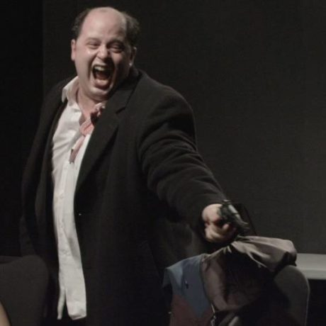 Chris D'Amato as Harry K Thaw. Photo courtesy of the production.