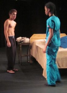 Cole Greenberg and Z. Jones in 'Marriage Suite.' Photo by David Jones