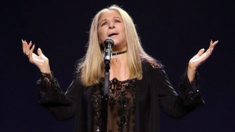 Barbra Streisand at The Verizon Center. Photo by Paul Morigi.