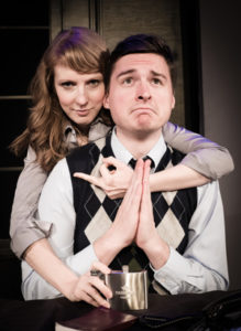 Erin Rein and Seth Wanta. Photo courtesy of the production.