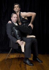 David Parker with Jeffrey Kazin. Photo by Nicholas Burnham.