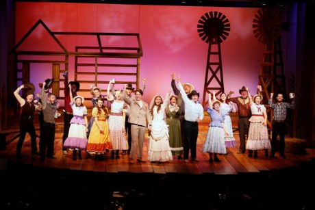The cast of 'Oklahoma!.' Photo by Suzanne Carr-Rossi.