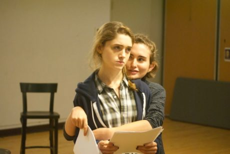 Natalia Dyer, and Mia Hutchnison-Shaw. Photo courtesy of the production.