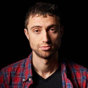 Playwright Alex Hersler.