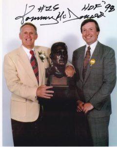 Tommy McDonald and Ray Didinger. Photo courtesy of Ray Didinger.