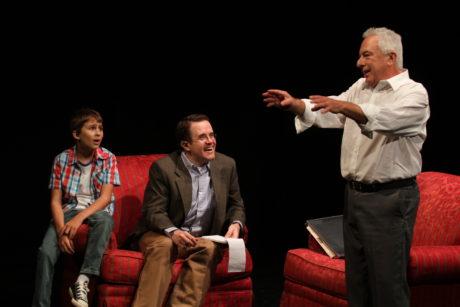Simon Canuso Kiley, Matt Pfeiffe, and Tom Teti. Photo by Paola Nogueras.