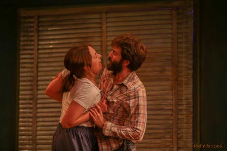Olivia Nice (May) and Matthew Seely (Eddie). Photo by Noel Valero.