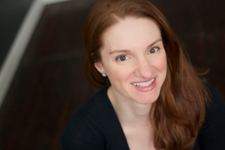 Playwright Courtney Boches. Photo by Kim Carson.