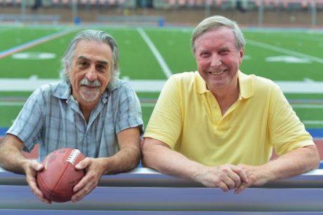 Joe Canuso and Ray Didinger. Photo by Robert Hakalski.