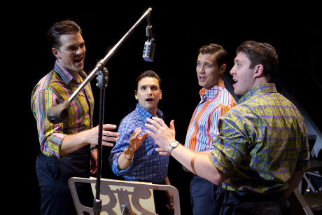 L to R: Keith Hines, Aaron De Jesus, Drew Seeley, and Matthew Dailey. Photo by Jeremy Daniel.