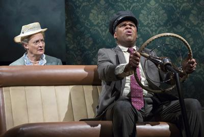 Craig Wallace and Nancy Robinette in the Ford's Theatre production of 'Driving Miss Daisy.' Photo by Scott Suchman.