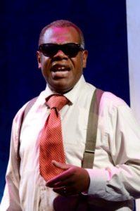 Craig Wallace as Miles Davis. Photo by Stan Barouh.