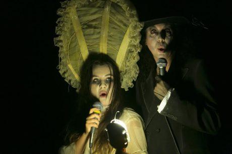 Felicia Kalani Anderton and Rudy Caporaso. Photo by J.R. Blackwell.