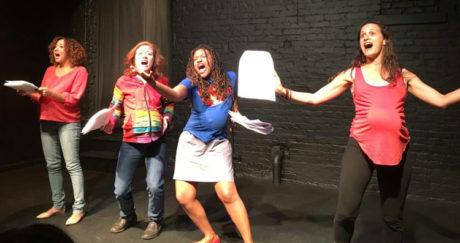 From left: Kristina Brooks, Kimberlee Wolfson, Karen Elle, and Katie Jeffries.
