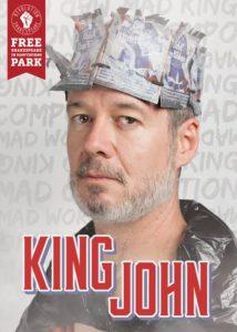 Kevin Bergen as King John.