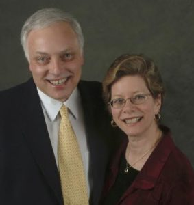 'Arts By George' Co-Chairs Merrill and Mark Shugoll. Photo courtesy of George Mason University.
