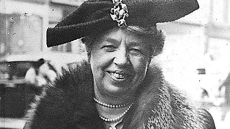 Eleanor Roosevelt. Photo courtesy of Compass Rose Theater.