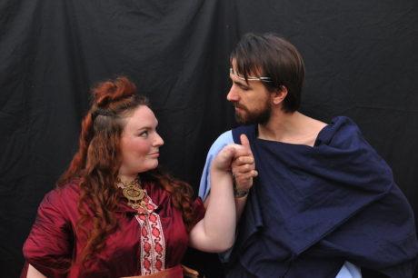 Mary Burnett (Medea) and (Jason). Photo by David Seidman,