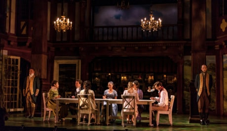 The cast of 'Sense and Sensibility.' Photo by Jesse Belsky.