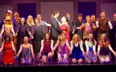 The cast of 'Legally Blonde.' Photo by Peter Lanscombe, Theatre Three Productions, Inc.