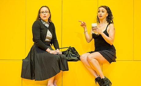 Dorea Schmidt and Natascia Diaz. Photo by