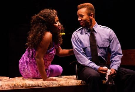 Ashley Johnson and Hasani Allen. Photo by Jeri Tidwell.