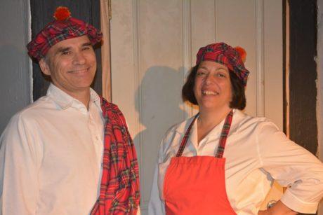 Alan Barnett and Penni Barnett. Photo by Julie Rogers.