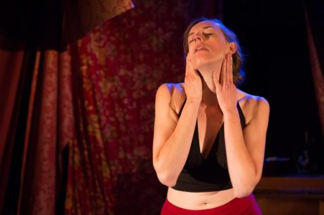 Rachel Hynes in 'You Have Made a Story on My Skin!' Photo by Teresa Wood Photography.