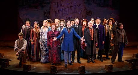 The cast of The Roundabout Revival of 'The Mystery of Edwin Drood.' Photo by Joan Marcus.
