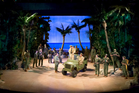 The Company of 'South Pacific.' Photo by Mark Garvin.