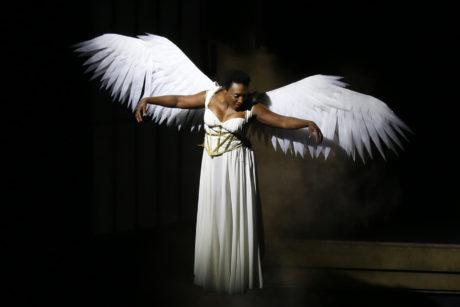 Dawn Ursula (The Angel). Photo by Danisha Crosby.
