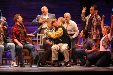 The Ford's Theatre cast of 'Come From Away.' Photo by Carol Rosegg.