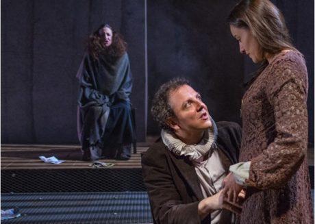 In the back: Luz Nicolas, Oscar de la Fuente, and Soraya Padrao. Photo by Stan Weinstein;