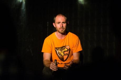 Chris Davis. Photo courtesy of FringeArts.