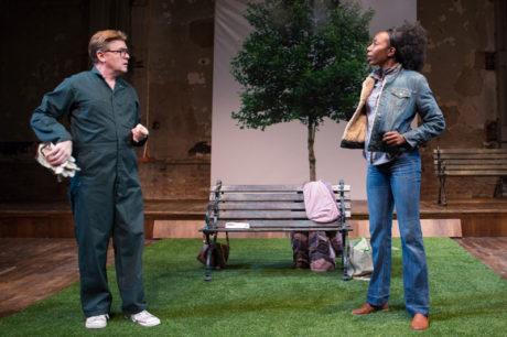 John Scherer and Joy Jones in Cloud 9 at Studio Theatre. Photo by Teresa Wood.