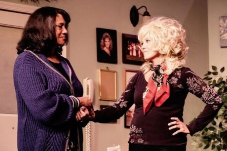 Brenda Parker (Clairee) and Carla Crawford (Truvy). Photo by Misty Smith.