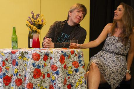 Bruce Rauscher and Alyssa Sanders. Photo by Anna Northrup.