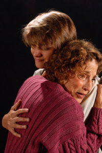 Jack Leitess (Billy), and Carol Cohen (Kate). Photo courtesy of Colonial Players.