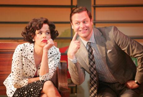 Janet Dacal (Rosie) and George Merrick (Albert). Photo by Diane Sobolewski.