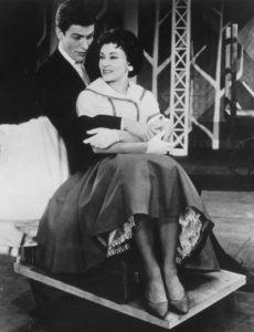 Chita and Dick Van Dyke in The Broadway cast of 'Bye Bye Birdie.' Photo courtesy of Vanity Fair.