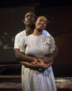 Ayana Reed (Carrie) and Duane Richards II (Simon). Photo by Chris Banks.