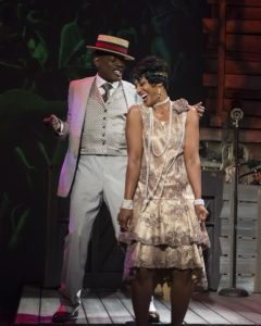 TC Carson (Herman Camm) and Yvette Spears (Pearl). Photo by Chris Banks.