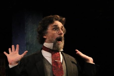 Phil Gallagher as Karl Marx in 'Marx in Soho.' Photo by Shealyn Jae Photography.