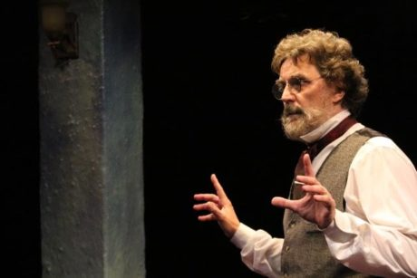 Phil Gallagher as Karl Marx in 'Marx in Soho.'- Photo by Shealyn Jae Photography.